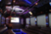 Inside of Limousine Party Bus