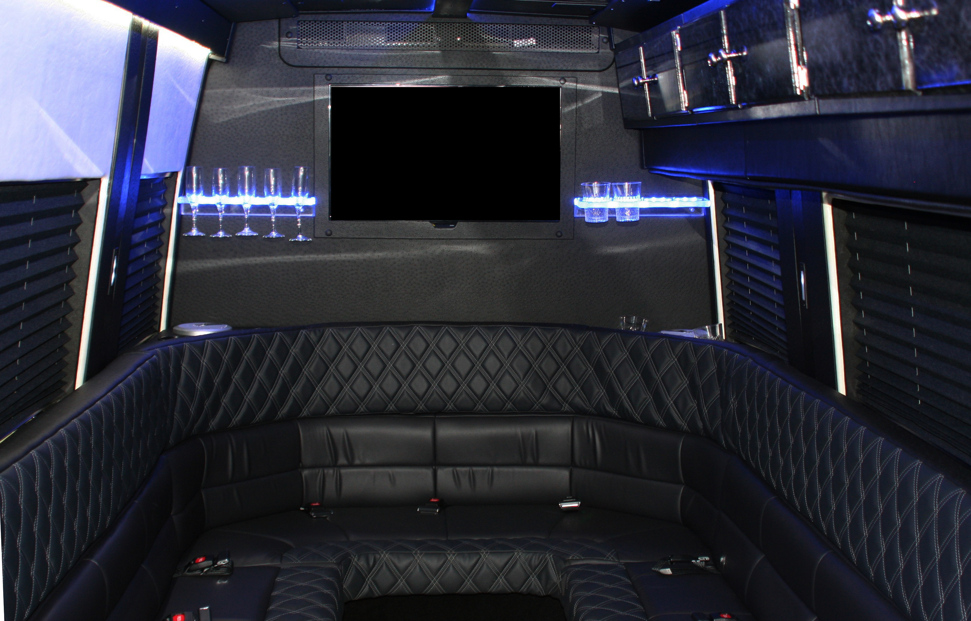 Luxurious Limo Interior