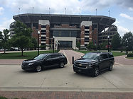 Our MKT and Suburban.  And, the UA Football Stadium, of course.