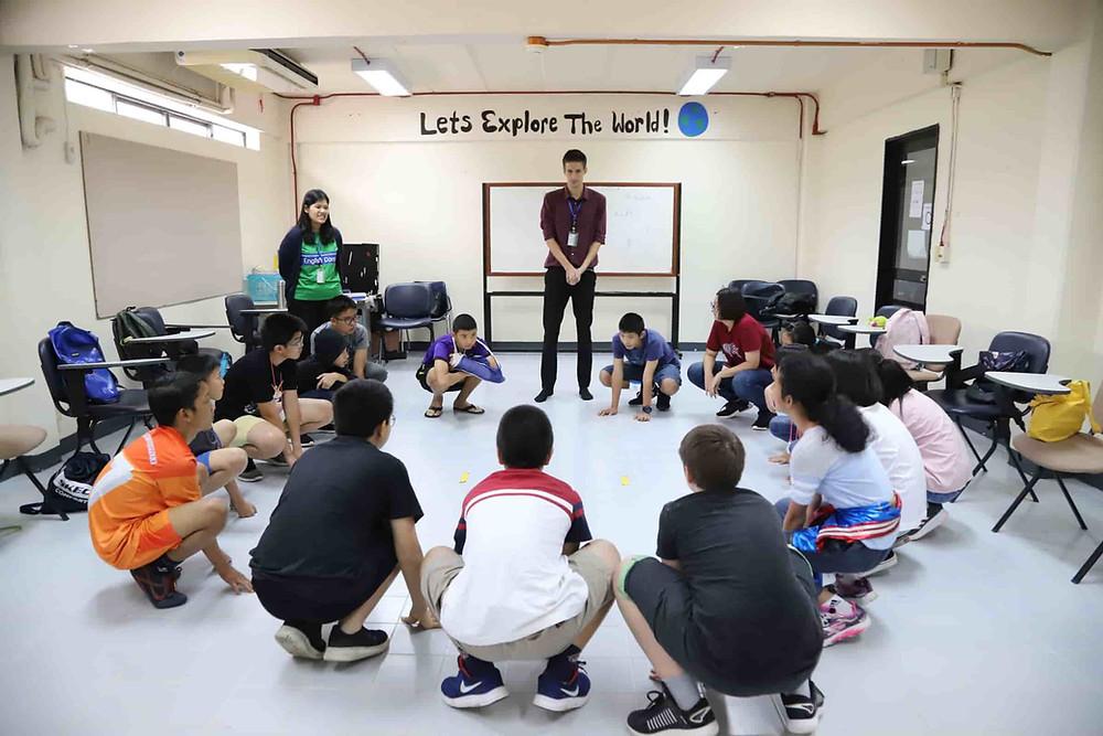 เกมในค่ายภาษาอังกฤษ