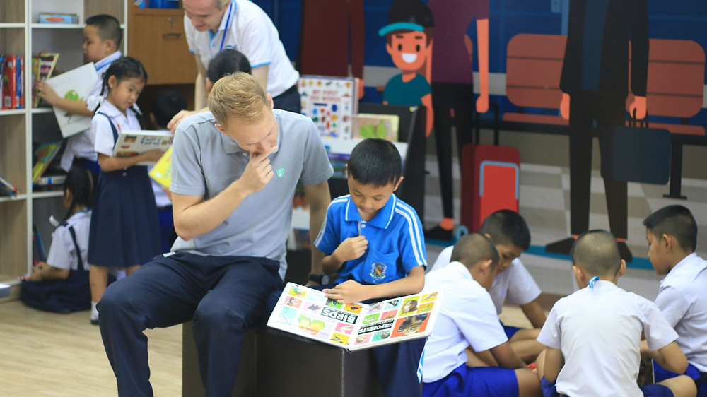 วิธีการสอนภาษาอังกฤษ เทคนิคการสอนภาษาอังกฤษ ห้องสมุด