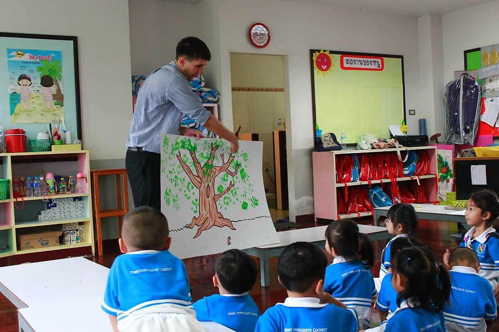 สอนภาษาอังกฤษ หาครูต่างชาติ หาครูฝรั่ง