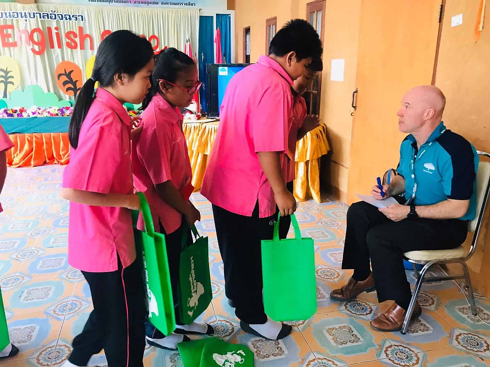 ครูต่างชาติ บริการจัดค่ายภาษาอังกฤษ English camp