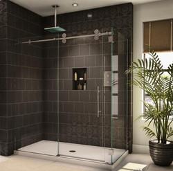 Shower Door Installation...