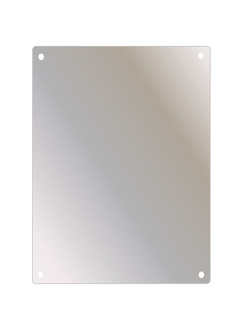 "SSF-1824 18"" x 24"" Stainless Steel Mirror Series"
