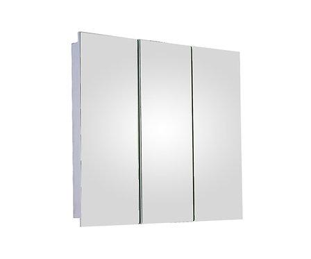 "SM-3636PE 36"" x 36"" Tri-View Series Medicine Cabinet"