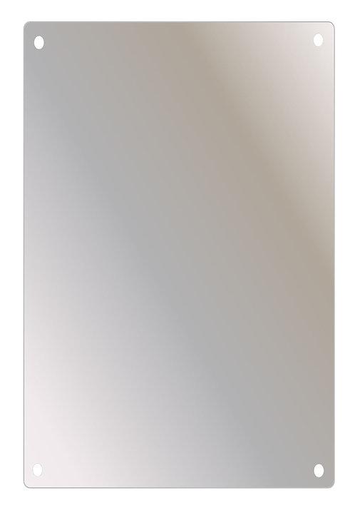 "SSF-2436 24"" x 36"" Stainless Steel Mirror Series"