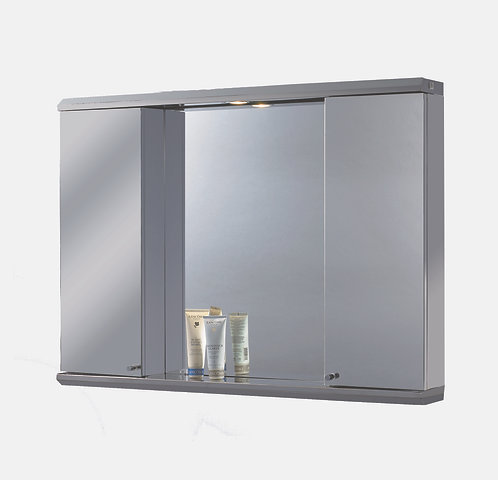 "3928L 39"" x 28"" Stainless Steel Illuminated Medicine Cabinet"