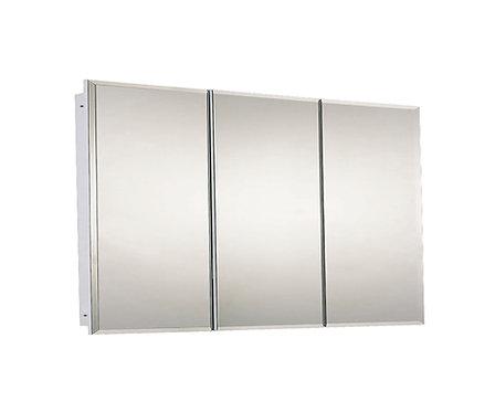 "R-4830BV 48"" x 30"" Tri-View Series Medicine Cabinet"