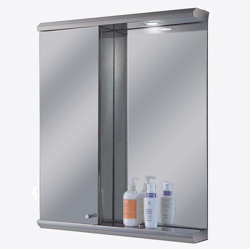 "2328L 23"" x 28"" Stainless Steel Illuminated Medicine Cabinet"