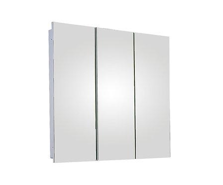 "R-3636PE 36"" x 36"" Tri-View Series Medicine Cabinet"