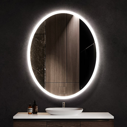 "ELL-2030 20"" x 30"" Ellipse Series LED Mirror"