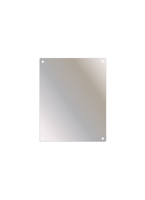 "SSF-1014 10"" x 14"" Stainless Steel Mirror Series"