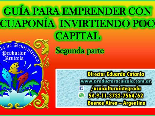 Guía para emprender con Acuaponía invirtiendo poco capital. (Segunda Parte)