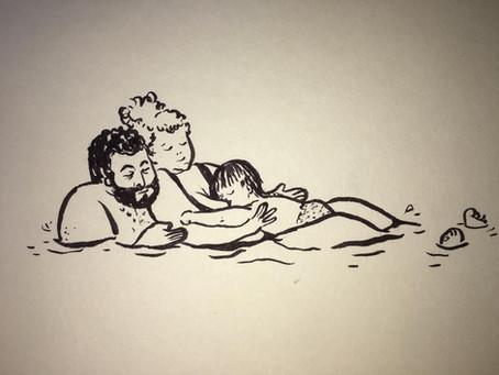 בילוי משפחתי במים