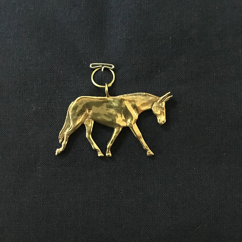 Donkey Walking Pendant