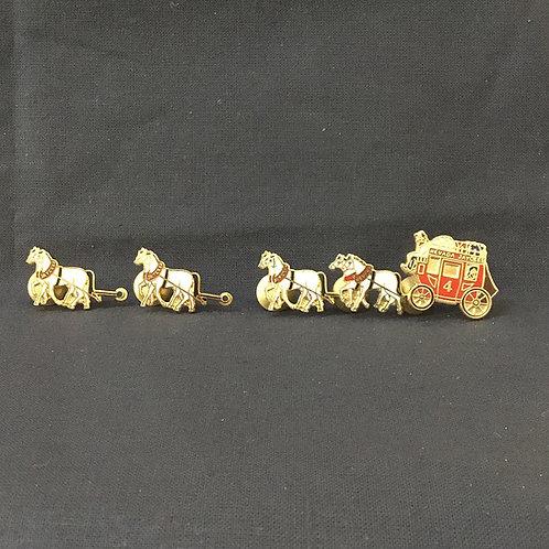 Stagecoach Pins