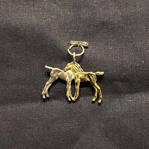 2 Foals Pendant