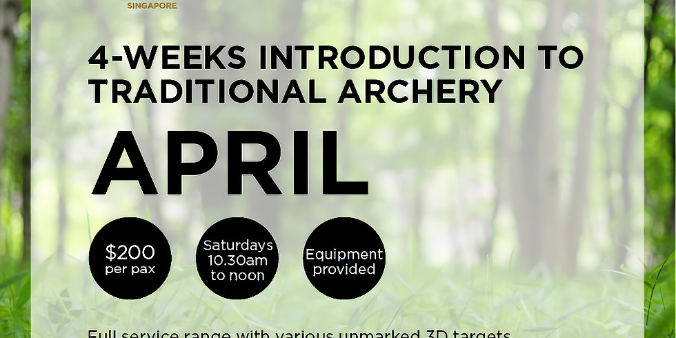 Introduction to Traditional Archery (April)