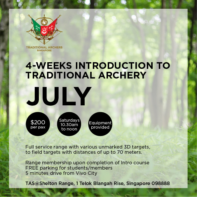 Introduction to Traditional Archery (July)