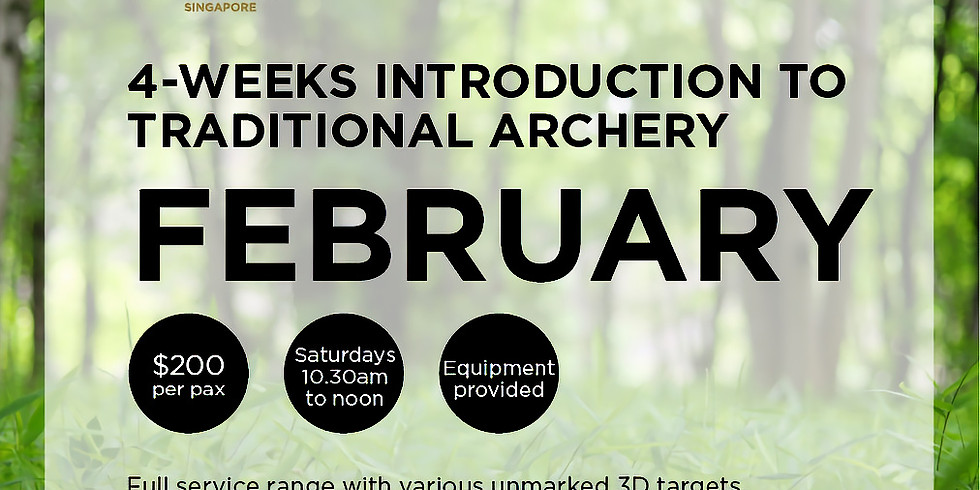 Introduction to Traditional Archery (February)