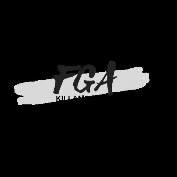 Peachpuff Brush Stroke Photography Logo