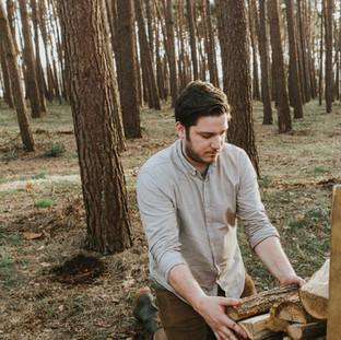 eikenhout stapelen