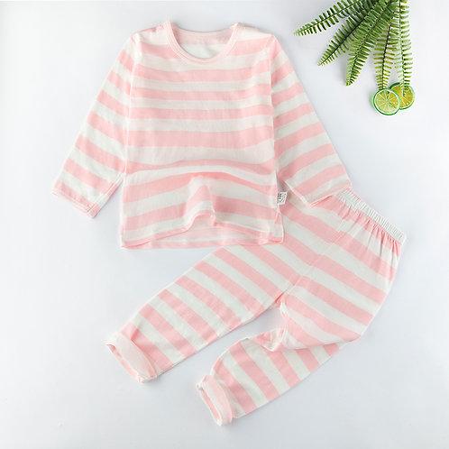 Pink Zebra Organic Cotton Pyjamas