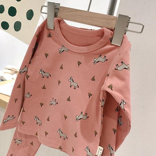 Pink Lama Organic Cotton Pyjamas