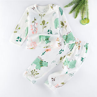 Green Bears Organic Cotton Pyjamas