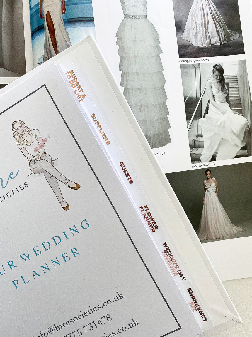 Inclusive wedding planner