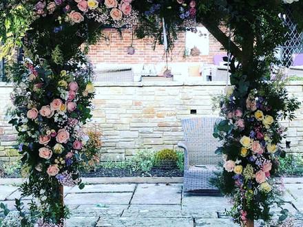 Pastel Floral Arch