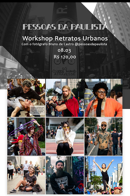 Workshop Retratos Urbanos