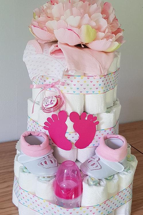 Plenkový dort  patrový - HAPPY feet