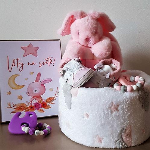 Plenkový dort - KIDPRO pink