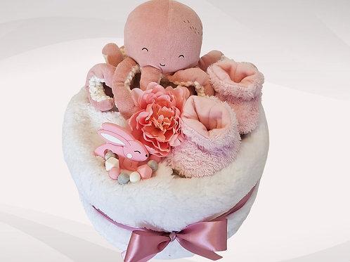 Plenkový dort - Oceán pink