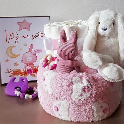 Plenkový dort - TIAMO pink