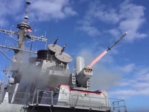 ABD 4 Destroyerini SeaRAM ile Donatacak