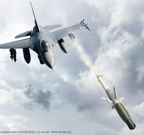 """ABD F-16'lari """"Cirit Benzeri"""" APKWS Kullanmaya Basladi"""