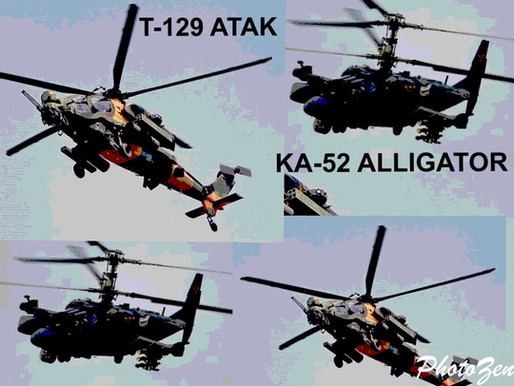 T-129 ATAK vs KA-52 ALLIGATOR