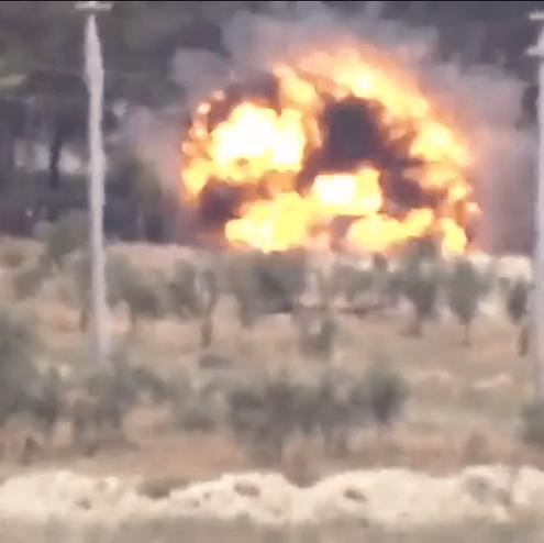 Turkiye-Suriye Sinirinda 3 Kundagi Motorlu Obusumuzun Vurulmasi