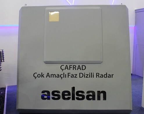 CAFRAD Cok Amacli Faz Dizili Radar