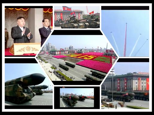 Gecit Toreninde Sergilenen Kuzey Kore Balistik Fuzeleri