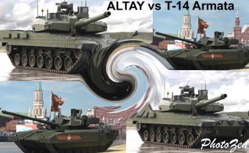 ALTAY vs T-14 Armata