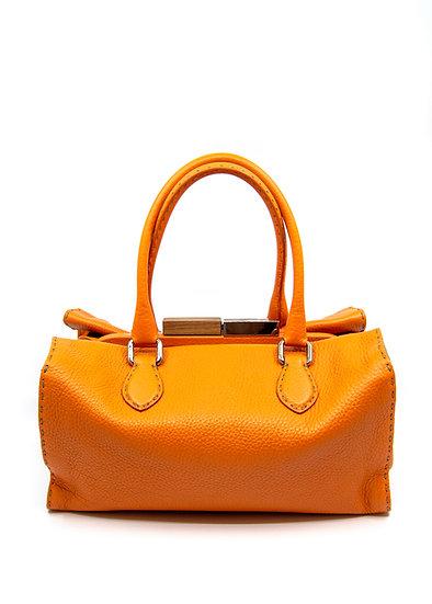 FENDI Selleria Firenze Bag in Orange