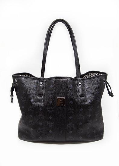 MCM Reversible Tote Bag in Black
