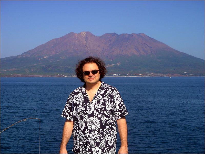 Gagoshima in the back