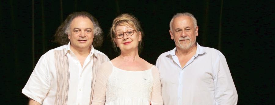 Patrice, Pascale et Francis