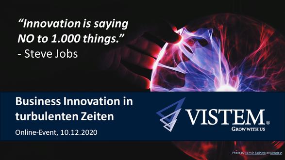 Business Innovation in turbulenten Zeiten