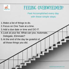 Feeling overwhelmed?